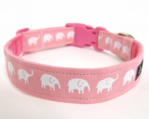 Pink Nelly Dog Collar
