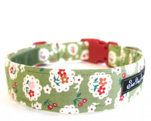 Betsy Green Handmade Dog Collar