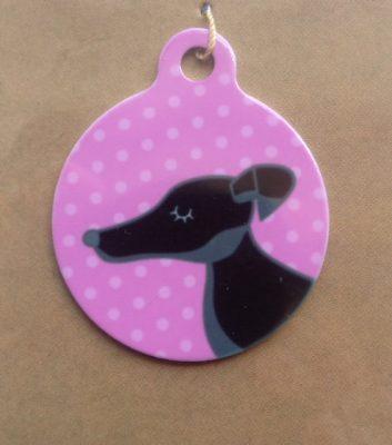 I Am Chipped Greyhound Dog Tags