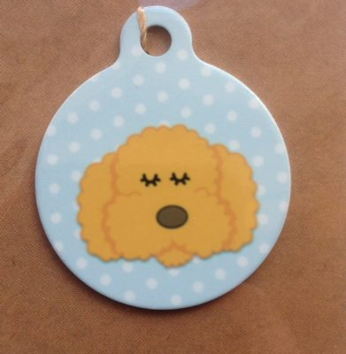 I Am Chipped Haired/Cockerpoo Dog Tags