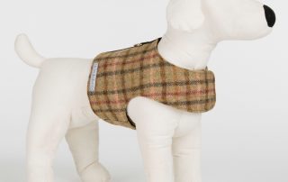 M&H Balmoral Tweed Dog Harnesses