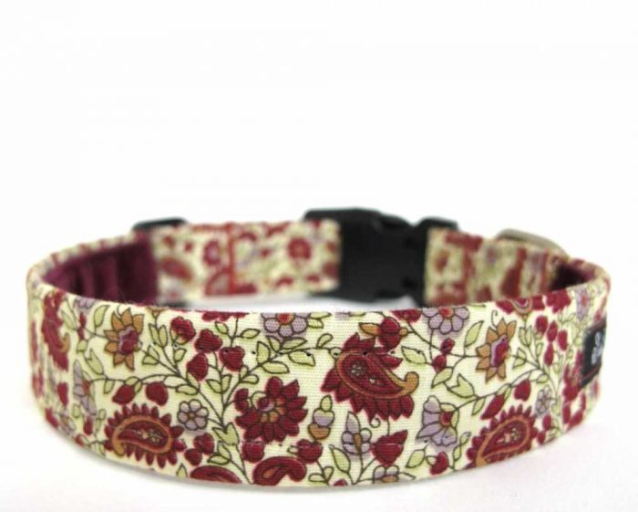 Weaver Paisley Dog Collar
